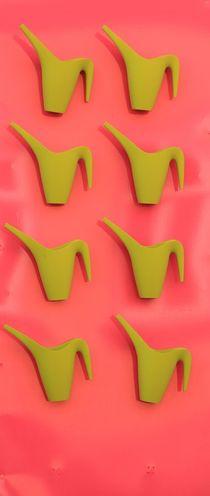 Quietschgrün und Pink by Silke Bicker