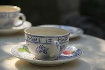 Teetassen im Sommer by Silke Bicker