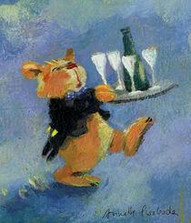 Champagnerbär von Annette Swoboda