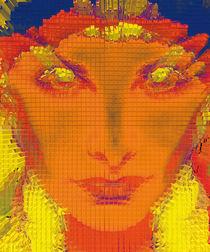 Orange Face by jean-carlos-jinckjeanc
