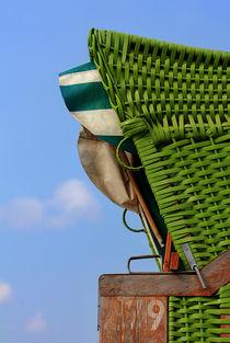 Grüner Strandkorb von Michaela Rau