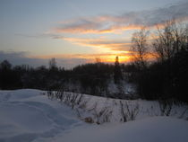 Sunset at Winter Afternoon by Katri Ketola