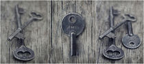decorative vintage keys I by Priska  Wettstein