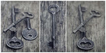 decorative vintage keys II by Priska  Wettstein