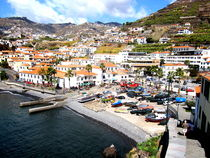 Fisher Village in Madeira by Katri Ketola