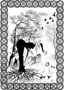 Winter Witch by Alicja Jaczewska