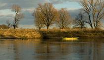Boat on the river von STEFARO .