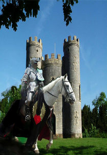 Blaise Castle's Knight by dawn Davies
