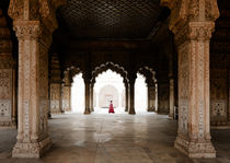 The Red Fort, New Delhi. by Tom Hanslien