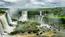 Iguazu Falls - Tilt Shift Effect by Russell Bevan Photography