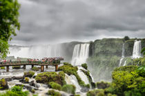 Over the Salto Santa Maria, Iguazu Falls by Russell Bevan Photography