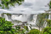 Visitors at Iguazu Falls by Russell Bevan Photography