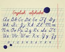 Alphabet set by Viktoryia Yakubouskaya