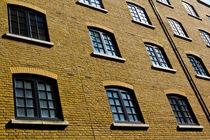 Butlers Wharf Windows by David Pyatt