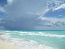 Blue Water,Riviera Maya-Mexico by Tricia Rabanal