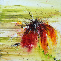 Abstrakte Blume by Ismeta  Gruenwald
