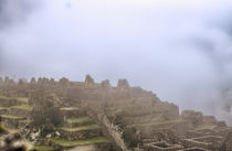 Das Handwerkerviertel von Machu Picchu by Steffen Klemz