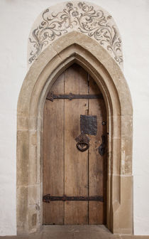 Door in a church in Besigheim von safaribears