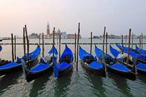 Venice, gondolas  von Alexander Borais