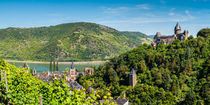 Bacharach mit Stahleck (1+) by Erhard Hess