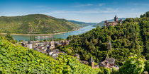 Bacharach mit Stahleck (3+) by Erhard Hess