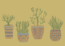 Potted Plants by Tasha Goddard