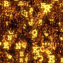 Buchstaben von dresdner