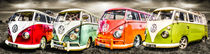 VW campervan panorama by ian hufton
