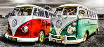 VW campervan's by ian hufton