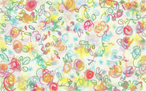 Sweet Flower Pattern 2 by aleksia