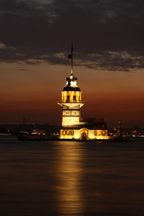 The Maiden's Tower by Evren Kalinbacak