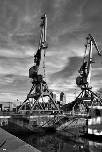 gruas en puerto Madero von mariana clotta