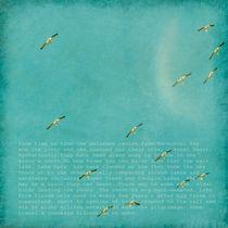 Pelicans Aloft by Linde Townsend