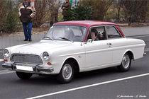 Ford 12M P4, Oldtimer, 60er Jahre-Auto von shark24