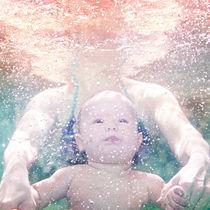Little boy swim  von Vladimir Serov