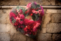 Flowers in the heart by Laura Benavides Lara