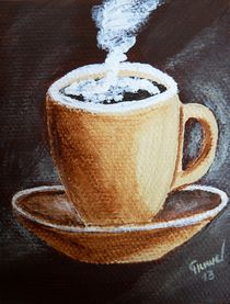 Tasse beige 2 by Christine Huwer