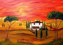 Hitze der Toskana   Heat of Tuscany by Christine Huwer