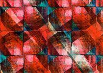 Zeitgenössische Kunst - Rot die Farbe der Liebe von Eckhard Röder