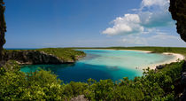 Dean's Blue Hole, Long Island, Bahamas by Shane Pinder