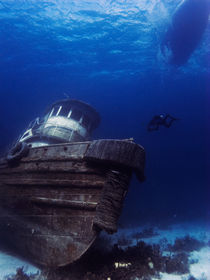 Anthony Bell Wreck, Nassau, Bahamas by Shane Pinder