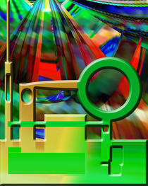 Abstract Art Of Colors 12351206 by Boi K' BOI
