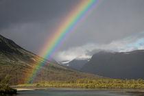 Regenbogen im Sarek Nationalpark, Schweden (06) von Karina Baumgart