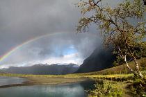 Regenbogen im Sarek Nationalpark, Schweden (05) von Karina Baumgart