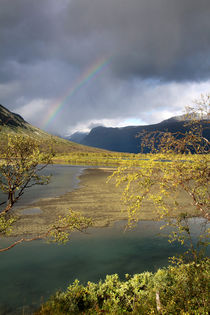 Regenbogen im Sarek Nationalpark, Schweden (04) von Karina Baumgart