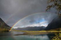 Regenbogen im Sarek Nationalpark, Schweden (01) von Karina Baumgart