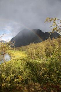 Regenbogen im Sarek Nationalpark, Schweden (03) von Karina Baumgart