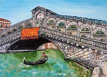 'Ponte di Rialto' by loredana messina