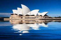 Sydney Opera House reflection by Sheila Smart