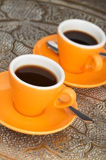Two cups of espresso von aremak